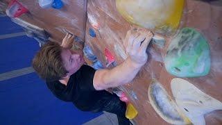 Nikken Is Back Fighting The V10/11 Problem This Bouldering Session! by Eric Karlsson Bouldering