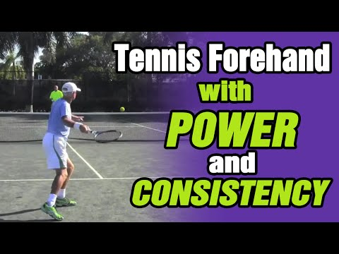 Tennis Forehand – How To Hit Tennis Forehand With Power And Consistency