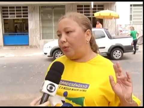 Funcionários dos Correios iniciam greve em Montes Claros