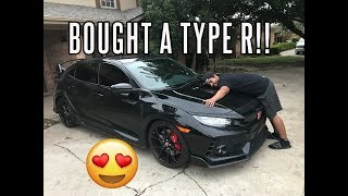 Video JUST BOUGHT A BRAND NEW CIVIC TYPE R! MP3, 3GP, MP4, WEBM, AVI, FLV Agustus 2017