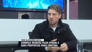 Conheça as propostas de Requião Filho, em entrevista na Band Curitiba