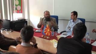 Tibunë - Vlerat morale në jetën bashkëkohore - Mr. Bekir Halimi dhe Prof. Dr. Emil Sulejmani