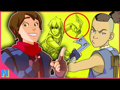 The Dragon Prince: Post Credit EASTER EGGS Explained! (Avatar Connections!)