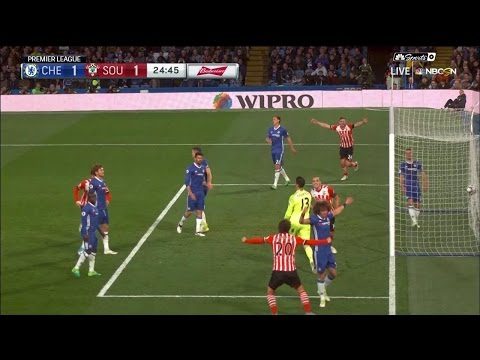 Video: Southampton's Oriol Romeu's tap-in equalizes against Chelsea