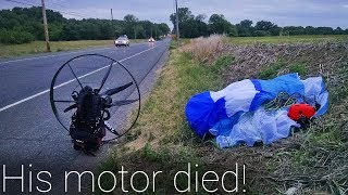 Video Paramotor Emergency Landing In A Corn Field!!! MP3, 3GP, MP4, WEBM, AVI, FLV Oktober 2018