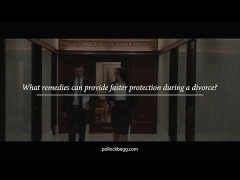What Remedies Can Provide Faster Protection During Divorce? Video