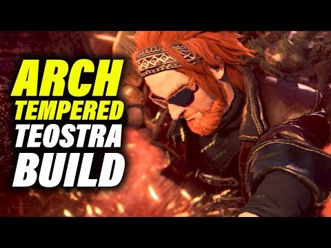 ARCH TEMPERED TEOSTRA BUILD & TIPS - Monster Hunter World