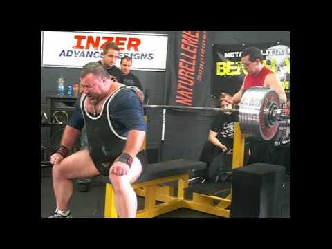 Bill Crawford 881.8 lbs Bench Press (400 kgs) All-Time World Record