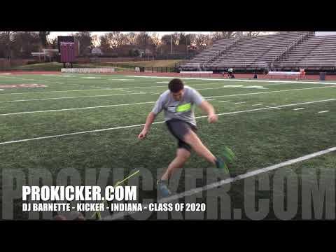 DJ Barnette - Prokicker.com Kicker - Indiana - Class of 2020