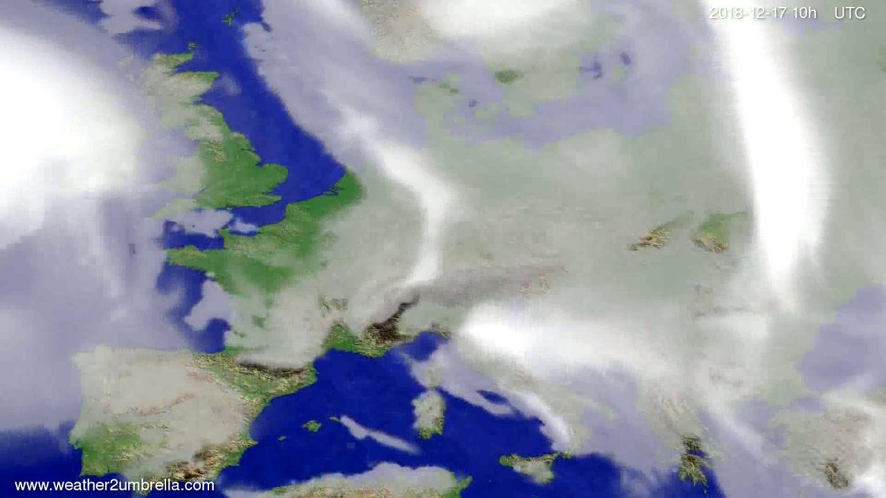 Cloud forecast Europe 2018-12-15