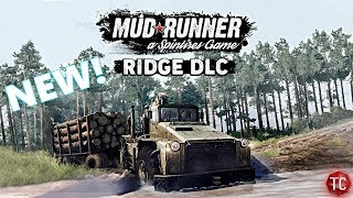 SpinTires MudRunner: NEW FREE DLC! THE RIDGE, FULL DETAILS, NEW TRUCKS, and MORE! Xbox One, PS4, PC