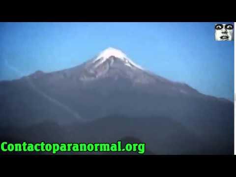 ufo si schianta sulle montagne - incredibile