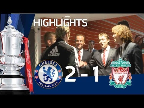 PITCH:CAM Chelsea 2 - 1 Liverpool Official Highlights 05/05/12