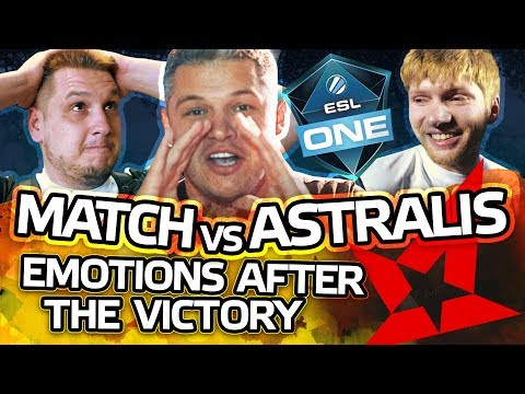 Match vs Astralis, Emotions after the victory - NAVI VLOG #7