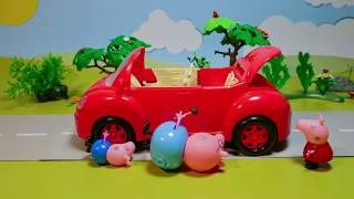 Свинка Пеппа - Джордж грязнуля. Мультик из игрушек Peppa Pig для детей stop motion