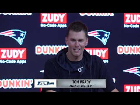 Video: Tom Brady Patriots Vs. Vikings Week 13 Postgame Press Conference