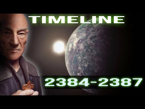 Star Trek Picard's Timeline (2384-2387)