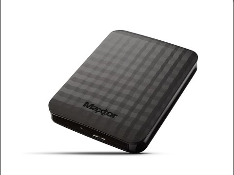 Unboxing Disco Duro Externo Maxtor 1 TB