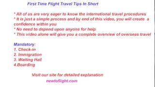 First Time Flight Travelideayourtrip.com