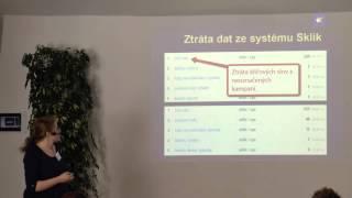 Foto z akcie Akademie digitálního marketingu prednáša Klára Boháčková.