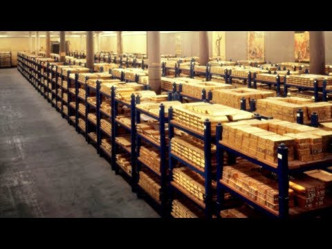 Top 10 Countries With The LARGEST Gold Reserves!