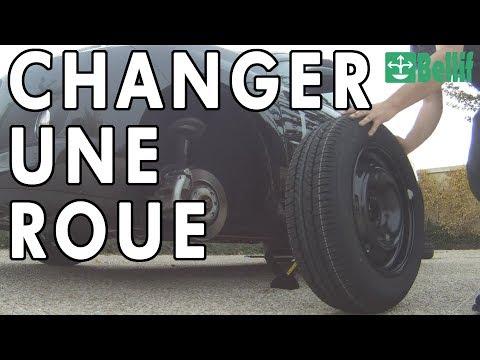 Comment faire pour changer une roue