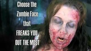 Freaky Zombie Face Wallpapers YouTube video