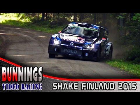 Vídeo full attack shakedown WRC Rallye Finlandia 2015 by bunnings