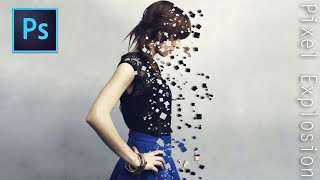 Pixel Explosion Effect | Photoshop Tutorial
