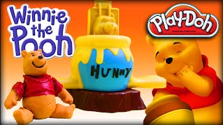 ♥ Play-Doh Disney Winnie the Pooh Making the Honey&Pooh 3D (PLAY-DOH Set for Preschool Kids)