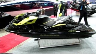 10. 2013 Sea-Doo RXP-X 260 Ultra Performance Jet Ski - Walkaround - 2013 Montreal Boat Show