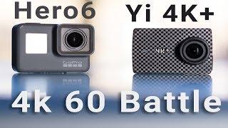 Video GoPro Hero6 vs Yi 4K+ 60fps Action Camera Comparison MP3, 3GP, MP4, WEBM, AVI, FLV Maret 2019