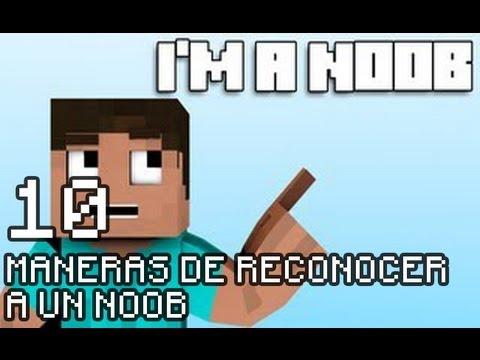 Minecraft - 10 Maneras de reconocer a un NOOB