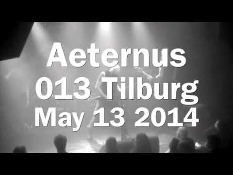 Dark metal from Bergen, Norway: Aeternus live @013 Tilburg [video]