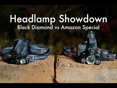 Headlamp Showdown: Black Diamond Icon vs Amazon Special??