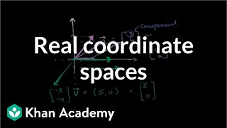 Real coordinate spaces | Vectors and spaces | Linear Algebra | Khan Academy