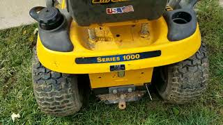 9. Well here is my new toy cub cadet Lt1042