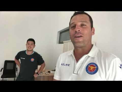 Novo Departamento de Fisioterapia do Yiteng FC