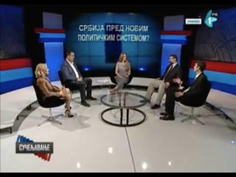 Sučeljavanje - D. Vukomanović (SPS), B. Pásztor (SVM), Z. Babić (SNS), B. Kostreš (LSV)-cover