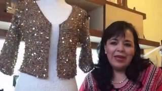 CHAQUETA O SACO TEJIDO TIFANY - Agujas fácil y rápido - Tejiendo con LAURA CEPEDA Video