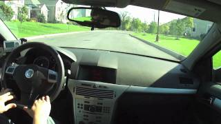 Test Drive Of My 2008 Saturn Astra Hatchback