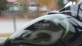 8. 2015 Kawasaki Vulcan 900 Custom | First Ride