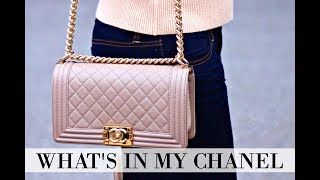 Download Lagu WHAT'S IN MY BAG | CHANEL BOY BAG + REVIEW + IS IT WORTH IT? Mp3