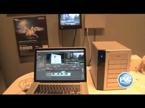 dhelmly - Here's a quick Thunderbolt demo shot by ProVideoCoalition.com in our booth at NAB2011. This new technology will change our workflow completely when it comes ...