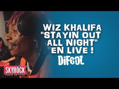 """Wiz Khalifa """"Stayin out all Night"""" en live #LaRadioLibre"""