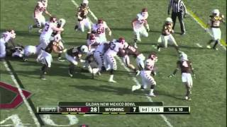 Evan Rodriguez vs Wyoming (2011)