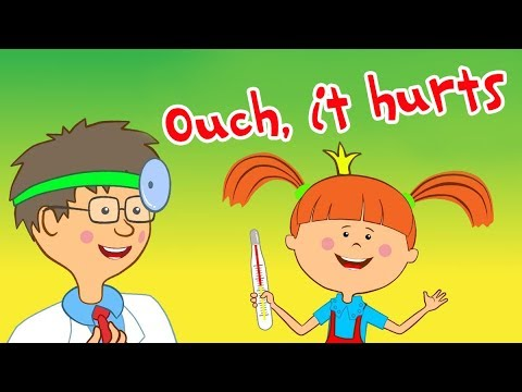 The Little Princess - Ouch, it hurts - New Animation For Children
