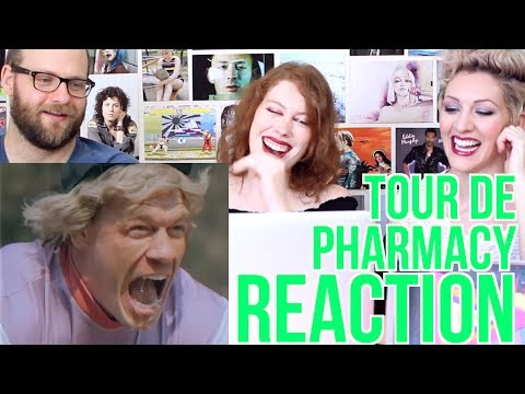 Tour De Pharmacy - Teaser Trailer - REACTION - Andy Samberg