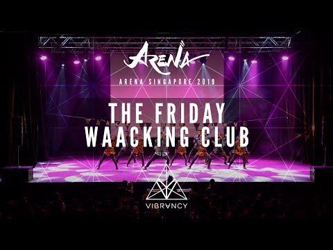 The Friday Waacking Club | Arena Singapore 2019 [@VIBRVNCY 4K] - Thời lượng: 4 phút, 36 giây.