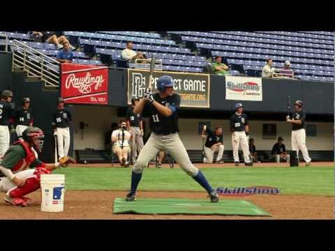 Trey Baur (Class 2014)  Baseball Perfect Game Junior National Showcase 2012